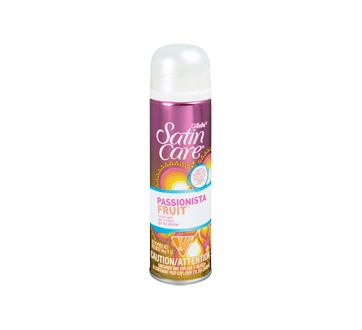 Satin Care Shave Gel, 198 g, Passionista Fruit