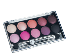 Image of product Personnelle Cosmetics - Eye Shadow Palette, 10 x 0.9 g