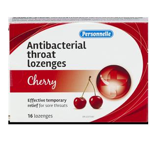 Antibacterial Throat Lozenges, 16 units, Cherry