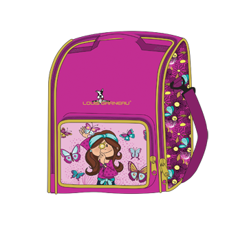 Lunch Box, 1 unit, Butterfly