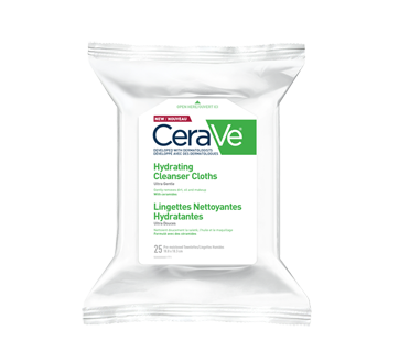 Image of product CeraVe - Makeup Removing Cleansing Cloths, 25 units