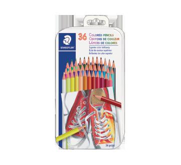 Coloured pencils, 36 units