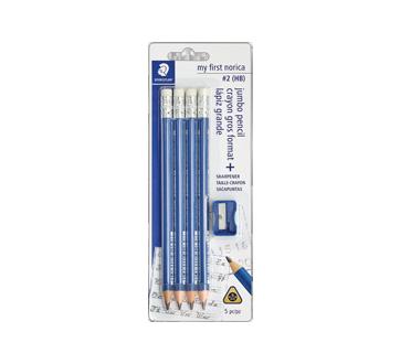Norica Jumbo Pencil, 5 units