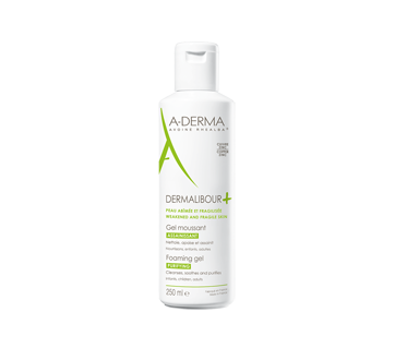 Dermalibour+ Foaming and Purifying Gel with Copper-Zinc, 250 ml