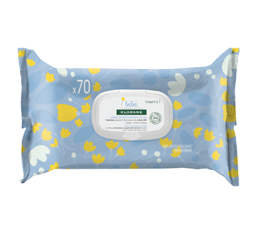 Gentle Cleansing Wipes, 70 units