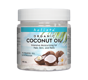Image of product Holista - Organic Coconut Oil, 440 ml