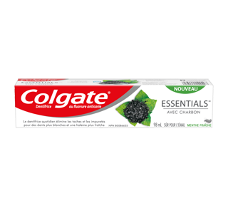 Essentials with Charcoal Toothpaste , 98 ml