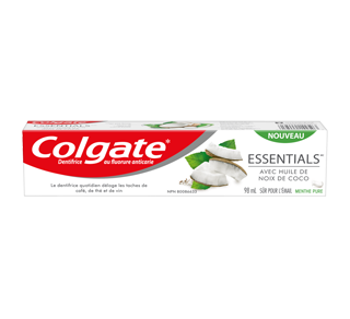 Essentials with Coconut Oil Whitening Toothpaste, 98 ml