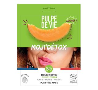 Moji'Détox Purifying Face Mask with Organic Melon, 1 unit