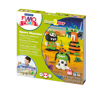 Playtime and Modeling Set, 1 unit, Space