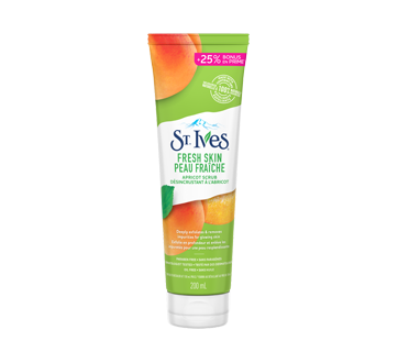 Image of product St. Ives - Fresh Skin Exfoliating Apricot Facial Scrub, 200 ml