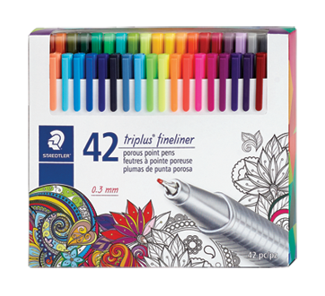 Image of product Staedtler - Triplus Fineliner Porous Point Pens, 42 units