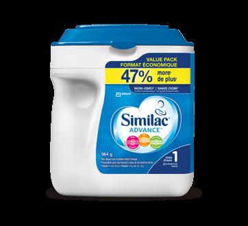 Advance Powder Baby Formula + DHA, Lutein & Natural Vitamin E, Step 1, 964 g