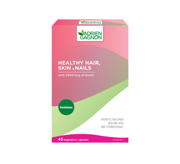 Image of product Adrien Gagnon - Feminex Healthy Hair, Skin & Nails, 45 units