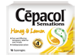 Thumbnail of product Cépacol - Sensations Sore Throat  Lozenges, Honey and Lemon, 16 units
