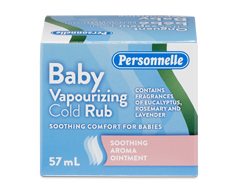 Image of product Personnelle - Baby Vapourizing Cold Rub, 57 ml
