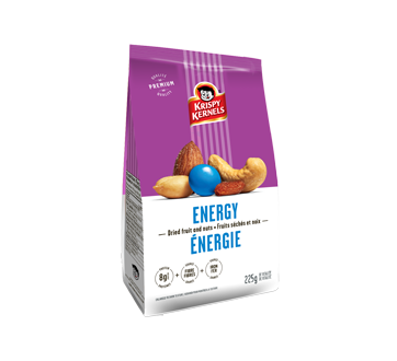 Energy Mixed Dried Fruit and Nuts, 225 g