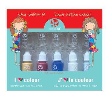 Colour Creation Nail Colour Kit, 10 units