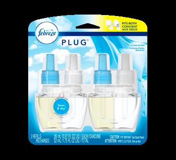 Noticeables - Air Freshener Refill, 2 x 26 ml, Linen & Sky