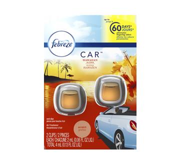 Car Air Freshener, 2 x 2 ml, Hawaiian Aloha