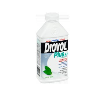 Image 2 of product Diovol - Plus AF Aluminum Free Antiacid Liquid, 350 ml, Fresh Mint