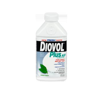 Image 3 of product Diovol - Plus AF Aluminum Free Antiacid Liquid, 350 ml, Fresh Mint