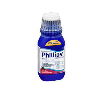 Image 2 of product Phillips - Phillips Milk of Magnesia Liquid, 350 ml, Cherry
