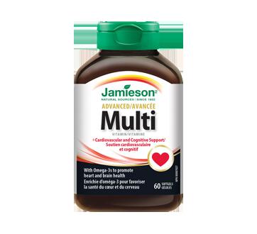 Image of product Jamieson - Advanced Multivitamin & Omega-3, 60 units