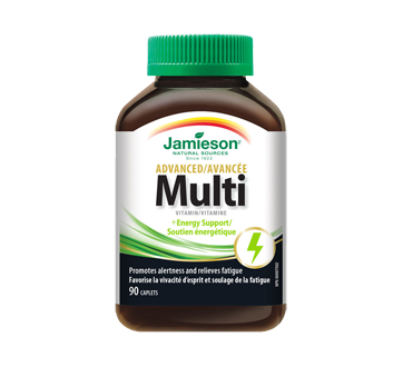 Image of product Jamieson - Advanced Multivitamin & Energy Support, 90 units