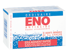 Image of product Eno - Antacid Effervescing Powder, 10 x 5 g
