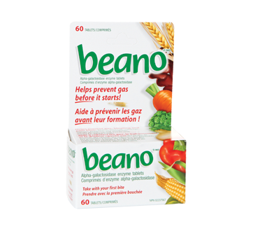 Image of product Beano - Beano Tablets, 60 units