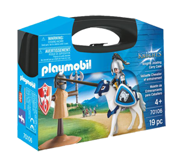 Image of product Playmobil - Knights Jousting Carry Case S, 1 unit