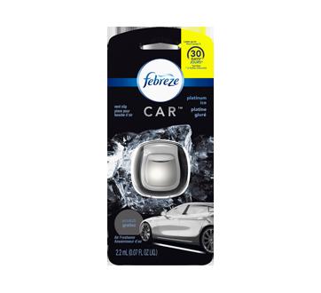 Car Air Freshener Vent Clip, 1 unit, Platinum ice