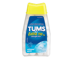 Image of product Tums - Tums Ultra Strength 750 mg, 100 units, Peppermint