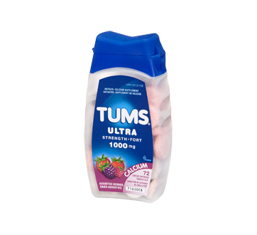 Image 1 of product Tums - Tums Ultra Strength 1000 mg, 72 units, Assorted Berries