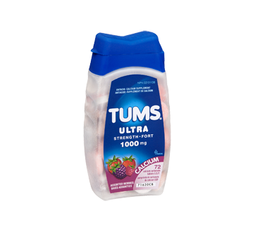 Image 2 of product Tums - Tums Ultra Strength 1000 mg, 72 units, Assorted Berries