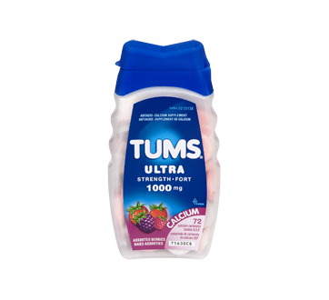Image 3 of product Tums - Tums Ultra Strength 1000 mg, 72 units, Assorted Berries