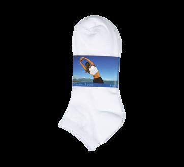 Sport Socks for Women, 3 units, White