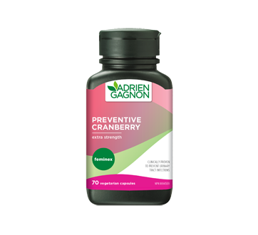Image 1 of product Adrien Gagnon - Feminex Preventive Cranberry, 70 units, Extra Strenght