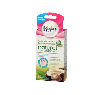 Image 3 of product Veet - Natural Inspirations Precision Wax Strips Face, 14 units