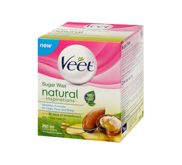 Image 3 of product Veet - Natural Inspirations Sugar Wax Legs, Face and Body, 250 ml