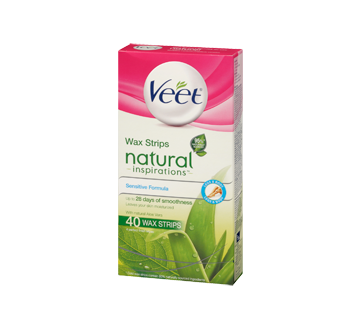 Image 3 of product Veet - Natural Inspirations Wax Strips Legs & Body wipes, 44 units