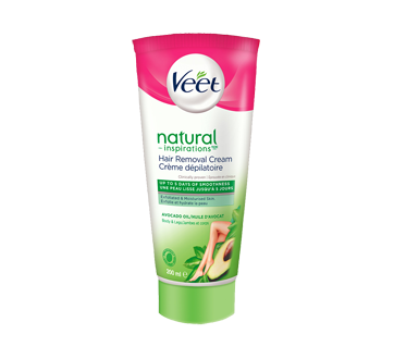 Natural Inspirations Hair Removal Cream Legs & Body, Normal & Dry Skin, 200 ml