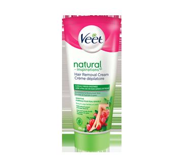 Natural Inspirations Hair Removal Cream Legs & Body, Sensitive Formula, 200 ml