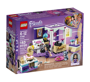 Image of product Lego - Lego Friends Emma's Deluxe Bedroom, 1 unit