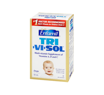 Image 1 of product Enfamil - Tri-Vi-Sol Multi-Vitamin Supplement of Vitamins A, D and C, 50 ml