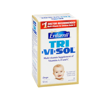 Image 2 of product Enfamil - Tri-Vi-Sol Multi-Vitamin Supplement of Vitamins A, D and C, 50 ml