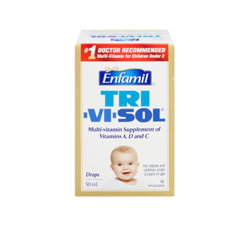 Image 3 of product Enfamil - Tri-Vi-Sol Multi-Vitamin Supplement of Vitamins A, D and C, 50 ml