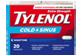 Thumbnail 1 of product Tylenol - Tylenol Cold & Sinus Extra Strength Nighttime Formula, 20 units
