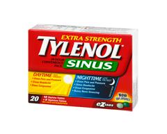Image of product Tylenol - Tylenol Cold & Sinus Extra Strength Daytime/Nighttime Formula, 20 units